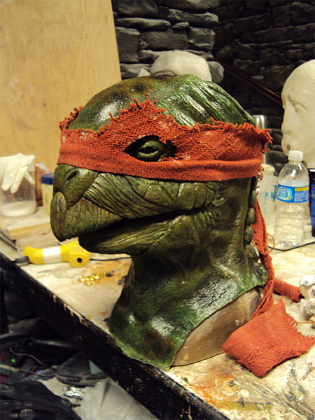 TMNT Raph Sculpture