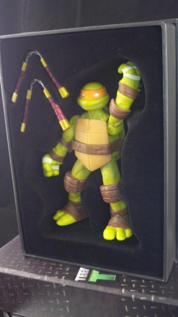 Pixel Dan S 2012 Toy Fair Playmates Teenage Mutant Ninja Turtles