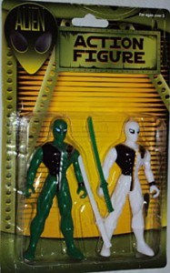 """NINJA"" ALIEN ACTION FIGURES"