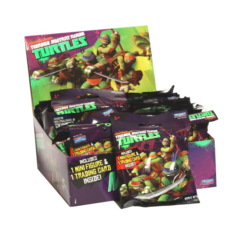 TMNT Mini Fig Display