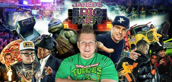 Crowd Funded EPIC PARTY in Dallas - $55 Per Person - Vanilla Ice, Coolio, Partners in Kryme, the TMNT +++