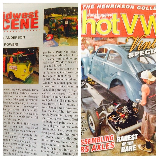 HOT-VWs / TMNTVAN Article !!