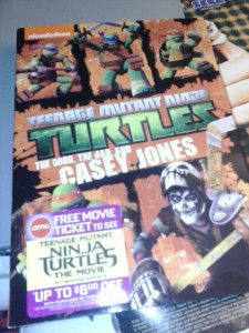 TMNT MOVIE CASH ..