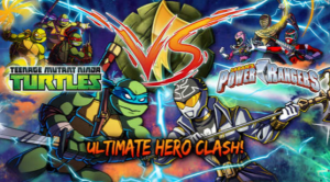 TMNT - POWER RANGERS CLASH game