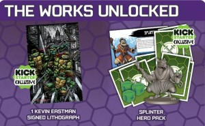 TMNT SHADOWS OF TH EPAST - GAME Kickstarter.
