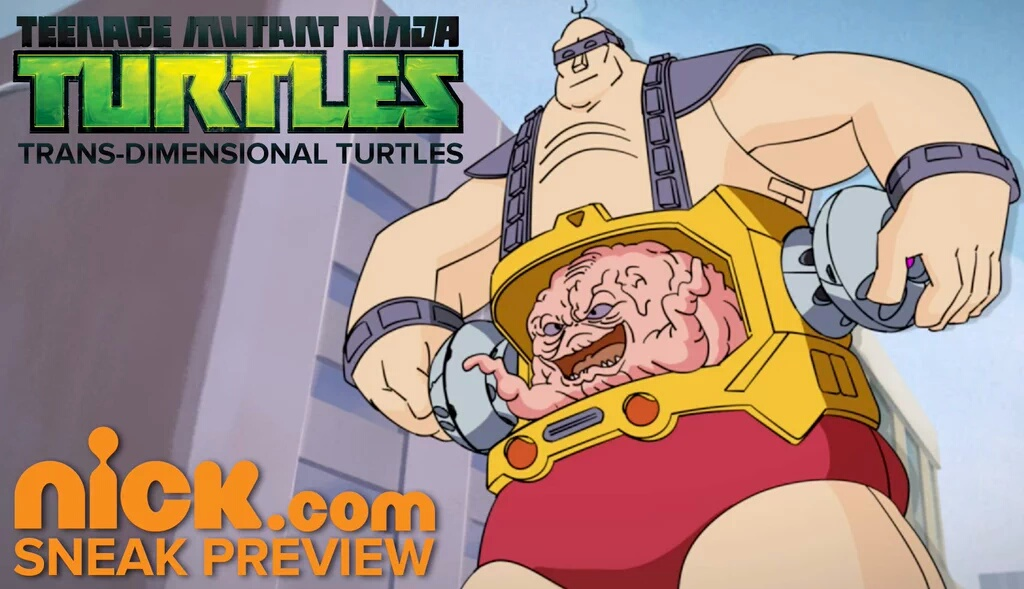 TRANS DIMENSIONAL Turtles KRANG PEEK